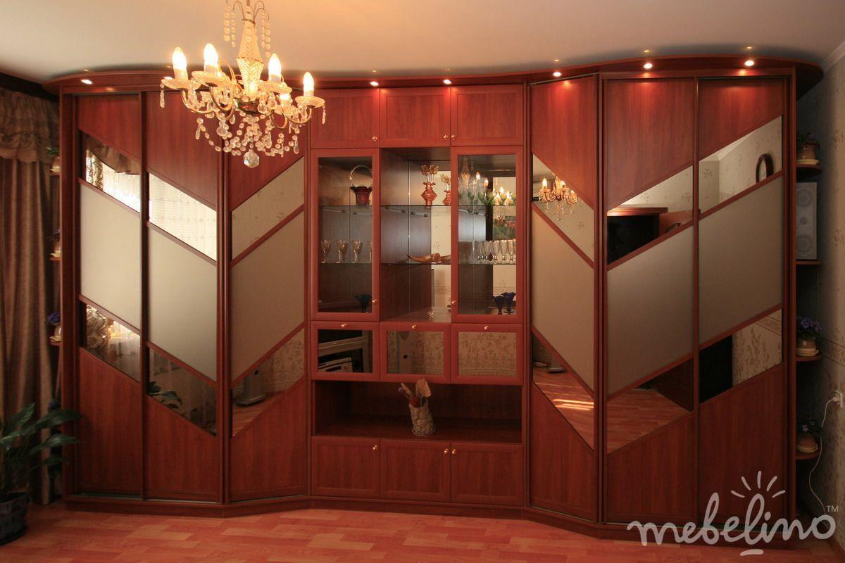 Большой Шкаф Купе В Гостиную Москва