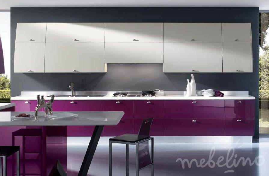 Кухня линейная рисунок