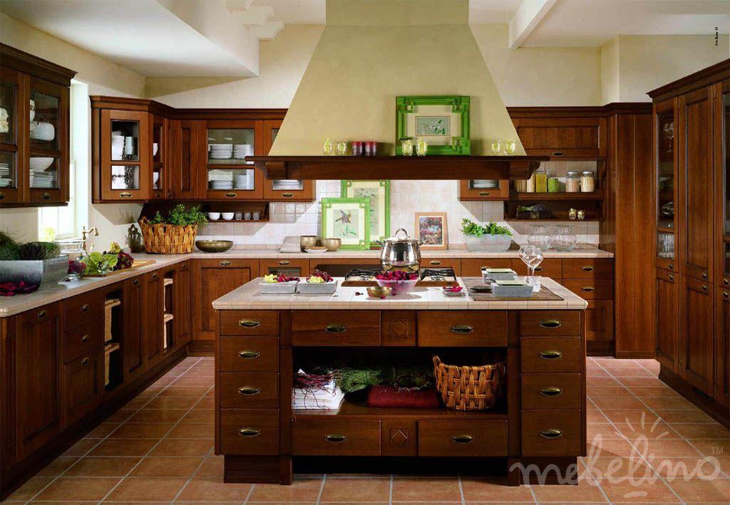 Кухни островные фото