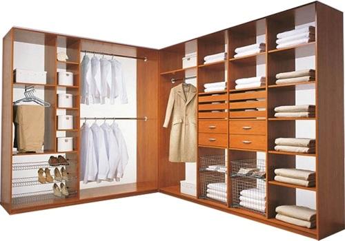 Как выбрать оптимальное наполнение шкафа-купе