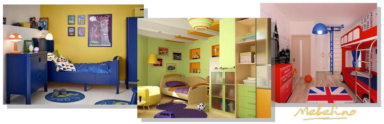 Детская мебель: как выбрать цвет