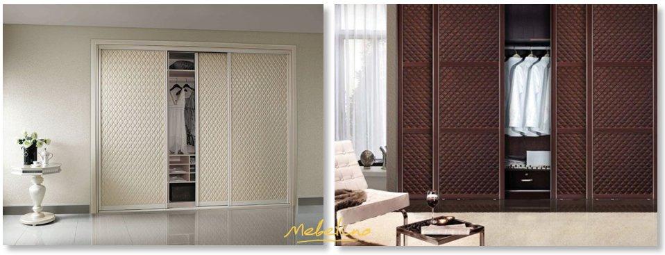Классические фасады для встроенных шкафов в современном исполнении